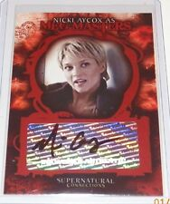 Supernatural Connections Autograph Trading Card Nicki Aycox as Meg Masters A-3