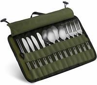 13 Pcs Portable Outdoor Camping Picnic Utensil Multipurpose Family Tableware Set