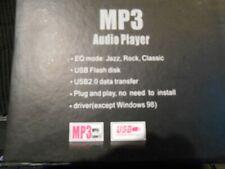 MP3 PLAYER 1GB LEVEL INFINITY BRAND PLUG & PLAY W/HEADPHONES BUNDLE