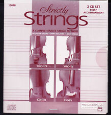 Strictly Strings Book 1 Cd Accompaniment 2 Disc Set