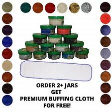 1 Jar Moneysworth Best Leather Boot Purse & Shoe Cream Polish-1.7oz-Any Color