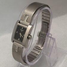 Tissot 1853 stainless steel black dial ladies watch QKK-JA L950K