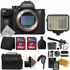 Sony Alpha a7R III Mirrorless Digital Camera (Body Only) + 128GB Accessory Kit