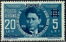1940 Iron Guard,Corneliu Z.Codreanu,Axe Berlin-Rome,Romania,M.681,CB1,CV$6.5,MNH