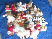Bearington Bear Collection Lot Rabbit Halloween Easter Christmas & More (Y776)