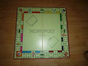 Vintage Monopoly Game Board Great Britian