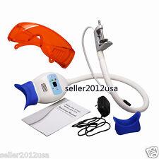 Dental Teeth Whitening Bleaching Accelerator LED Light Lamp w/ Arm Holder Goggle