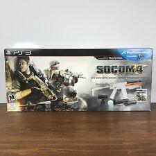 SOCOM 4: U.S. Navy SEALs - Full Deployment Edition PLAYSTATION 3 COMPLETE bundle