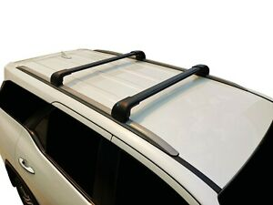Alloy Roof Rack Cross Bar for Volvo XC60 08-17 With Flush Rails Black