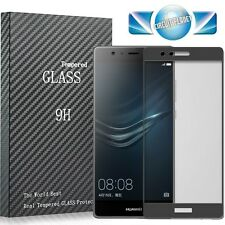 Full Cover Curved 3D Tempered Glass Screen Protector For Huawei P9 Black
