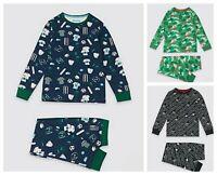 New Boys Pyjama Set Star Wars Camouflage Sports Ex M&S Age 5-15 Years RRP £12