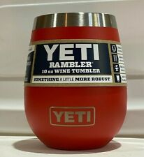 YETI Rambler 10oz Stainless Steel Vacuum Insulated Wine Tumbler ~ Choose Color