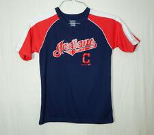 Cleveland Indians MLB Baseball Jersey Shirt Boys Size Youth MEDIUM 10 / 12