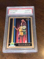1990 Skybox Shawn Kemp Seattle Sonics Rookie RC PSA 8