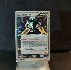 Raikou EX 108/107 Team Rocket ⚡Secret Rare Holo⚡Pokémon Card NO PSA CHARIZARD