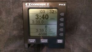 Concept 2 PM3 Rowing Machine Rower Monitor - 3 Month Warranty