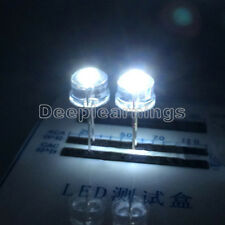 10PCS 8MM Straw Hat 0.5W LED Light Emitting Diode Yellow White Red Green Blue