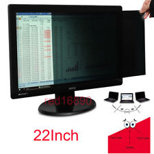 """22"""" 16/10 Anti-Spy Film Privacy Protective Screen Filter For PC Computer Monitor"""