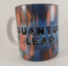 Vintage 1989 Quantum Leap Tv Show Coffee Mug Cup RaRe Sott Bakula Dean Stockwell