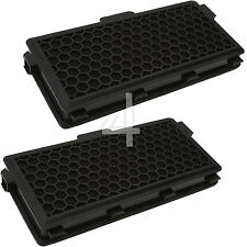 2 Charcoal Filters for Miele Cat And Dog SFAAC50 SF-AAC50 S4000 S5000 S6000