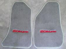 ASC McLaren Gray Floor Mats carpet