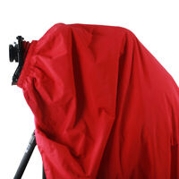 NEW Red & Black Dark Cloth Focusing Hood 5x7 8x10 Large Format Camera Wrapping