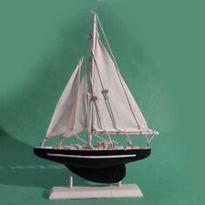 "Sailboat Model Wood 7"" x 11"""