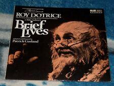 ROY DOTRICE in BRIEF LIVES by JOHN AUBREY UK LP MAJOR MINOR MMLP48 GARLAND