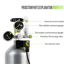 CO2 Regulator Decompression Table 2 Gauge Aquarium Bubble Counter W21.8  H}}