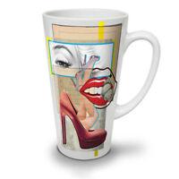 Fashion Stylish NEW White Tea Coffee Latte Mug 12 17 oz | Wellcoda