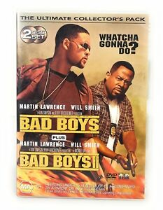 Bad Boys 1 & 2 Collector's Pack DVD Will Smith Martin Lawrence Region 4