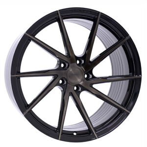 "22"" STANCE SF01 BLACK CONCAVE WHEELS RIMS FITS MERCEDES W164 ML350 ML450 ML550"