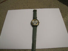 Swatch Watch Green Chronograph
