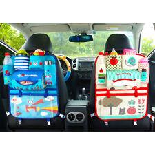 Cartoon Car Seat Back Multi-Pocket Storage Bag Organizer Holder Kids Baby Cute