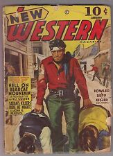 New Western Jan 1942 Pulp Eli Colter Kenneth Fowler James P Webb John J Pearsol