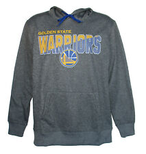 Golden State Warriors Men's X-Large Performance Hooded Sweatshirt Gray