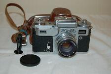 Kiev-4 (Type 3) Vintage 1974 Soviet Rangefinder Camera & Case. 7438702. UK Sale