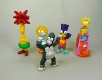 The Simpsons 5 Figuren Set Sammelfiguren Burger King 2000 / 2002