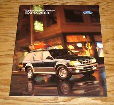 Original 1998 Ford Explorer Sales Brochure 98 XL XLT Sport Eddie Bauer