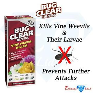 Bug Clear Ultra Vine Weevil Killer 2 in 1 Action 480ml Pest Control Concentrate