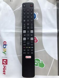RC802N ARC802N YUI1 Original TCL TV Remote:TCL 65C2US 75C2US 43P20US Netflix