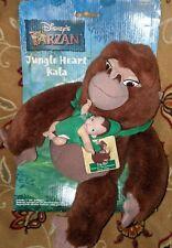 Vintage Jungle Heart Kala Baby Tarzan Disney's Tarzan Mattel Plush