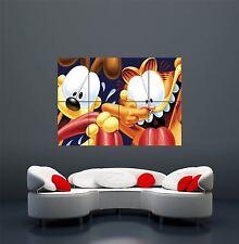GARFIELD ODIE Fumetto Cartoon Dog Cat Gigante wall art print poster x2308