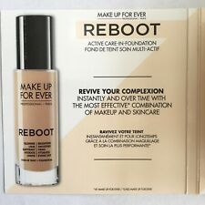 Make Up For Ever Reboot Foundation Brightening Face Makeup Sample Size .7mL R530