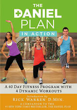 Daniel Plan: In Action (DVD, 2015, 2-Disc Set) Exercise Fitness