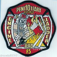 "Jacksonville  Station-10, FL  ""Penitentiary - 1927""  (4"" x 4"" size)  fire patch"