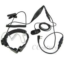 VOX Heavy Duty Throat Mic Headset PTT For Baofeng BF-F8+ UV5RTP GT-3TP BF-F9 V2+