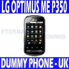 LG OPTIMUS ME PECAN P350 DUMMY DISPLAY PHONE - UK