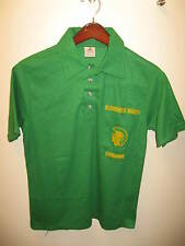 Glenbrook North Spartans Swimming High School Glenview IL 1970s Polo Shirt USA M