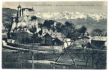 CPA 38 Isère Château et Côtes de Sassenage